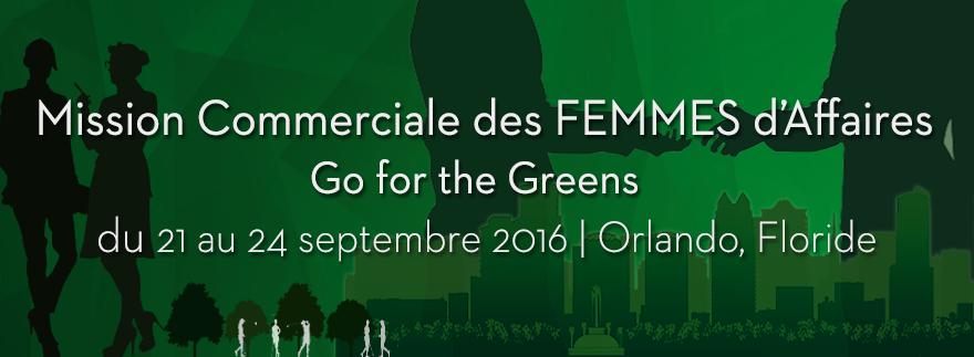 Découvrez-en plus sur la conférence du développement des affaires «Go for the Greens» 2016