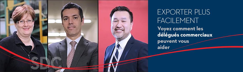 Regardez la vidéo et constatez comment les délégués commerciaux aident les entreprises canadiennes à prendre plus rapidement de meilleures décisions, afin d'atteindre leurs objectifs à l'étranger